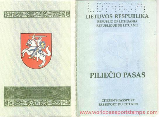 passport documents in Lithuania