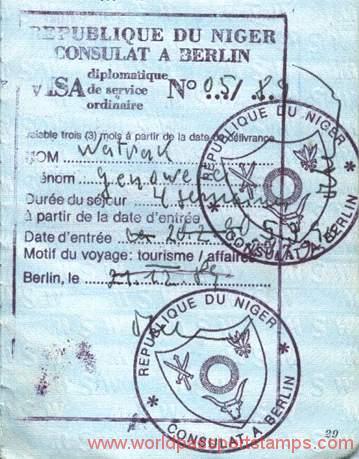 emigration to Niger