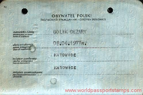 documents of identity in Poland