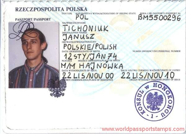 passport documents in Poland