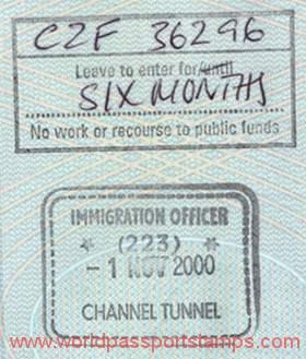 visa to Great Britain