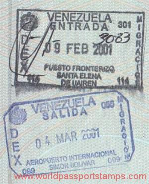 travels to Venezuela tourism