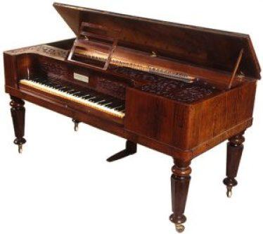 Broadwood square piano