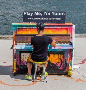 Play Me I'm Yours - Paris 2014