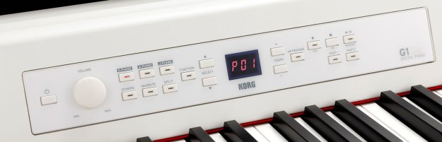 Korg G1 Air Digital Piano : control panel