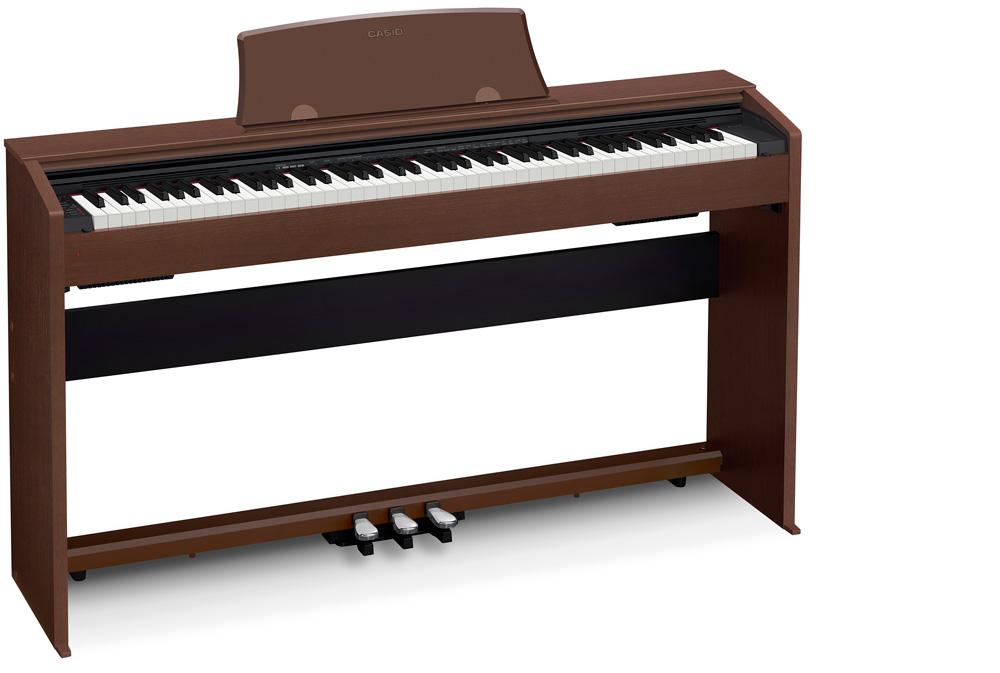 new casio digital pianos at summer namm show world piano news. Black Bedroom Furniture Sets. Home Design Ideas