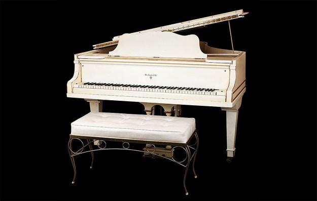 Elvis Presley's 1912 Knabe Grand Piano