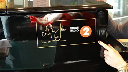 the Elton John Radio 2 Piano