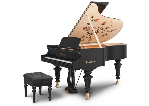 "The Bösendorfer ""Dragonfly"" grand piano"