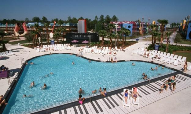 Disney's All-Star Music Resort swimming pool
