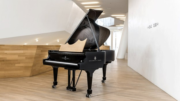 The Steinway & Sons Elbphilharmonie Limited Edition piano