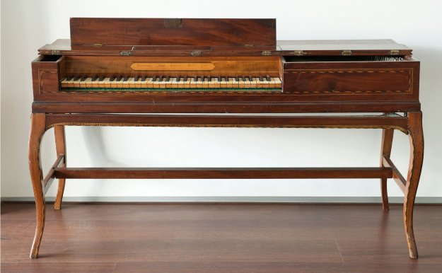 The First Fleet piano