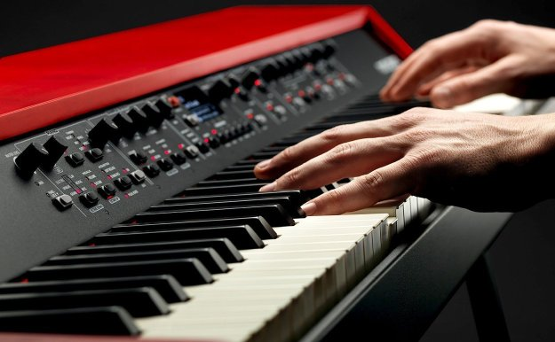 The Nord Grand's control panel