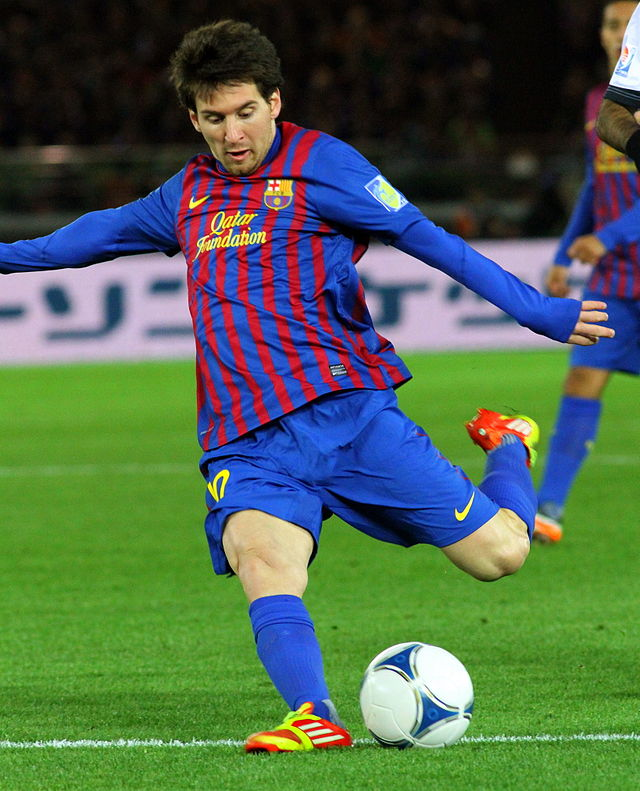 Christopher Johnson - Flickr: Lionel Messi Player of the Year 2011