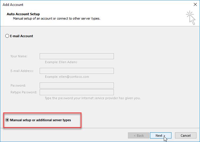 word image 32 - IMAP Configuration for WorldPosta