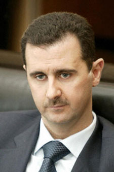 Syrian leader Bashar al Assad
