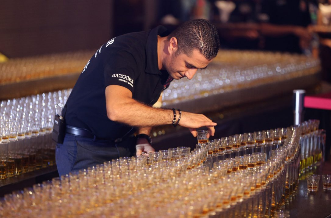 Longest Domino Drop Shot Dubai Breaks Guinness World