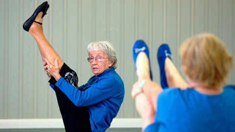 Bernice Mary Bates, World's Oldest Yoga Teacher