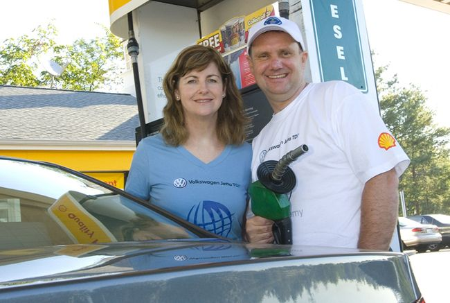 John and Helen Taylor, the world's most fuel-efficient couple