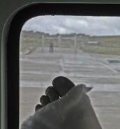 Airport Gate Foot