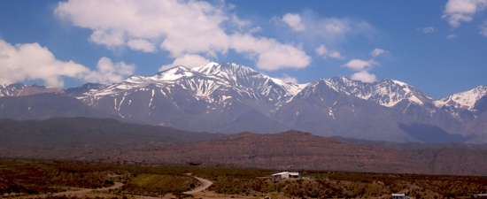 Andes Leaving Mendoza