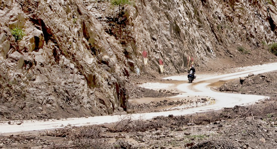 Bad Bol Paved Road