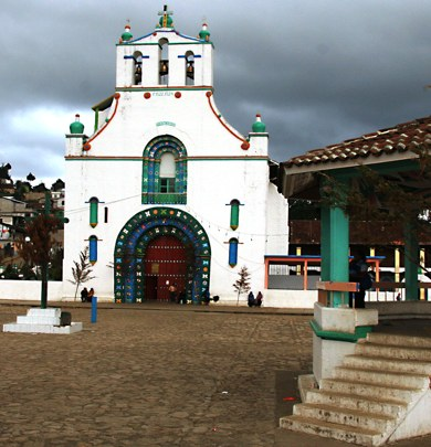 Chumula Church Chiapas