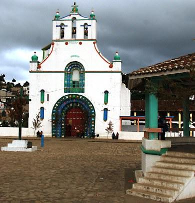 Chumula Church Chiapas