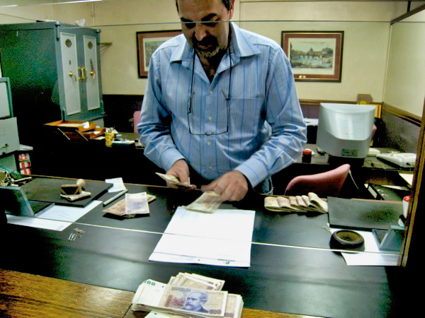 Counting The Cash Delfino
