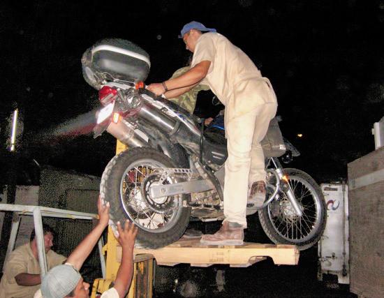 Doc On Forklift
