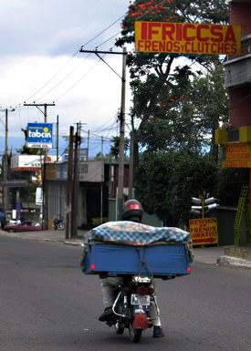 Guatemala City Biker