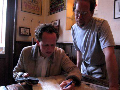 Jeremiah Gert Reviewing Maps