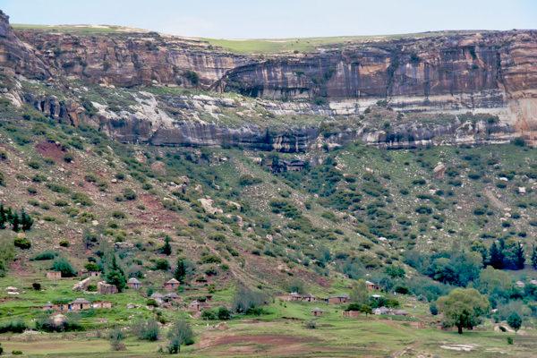 Lesotho Lowlandvillage