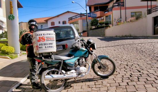 Motoboy Brazil Wine Region
