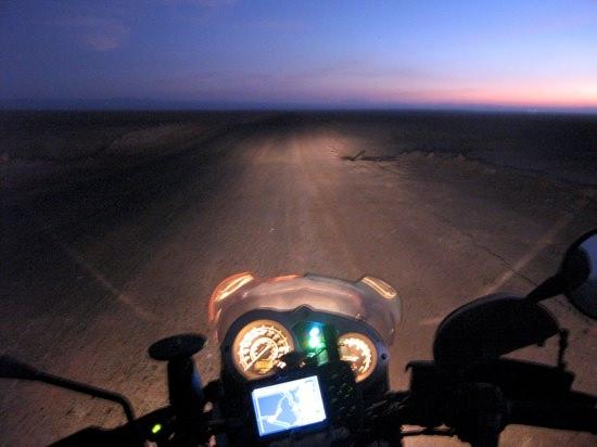 Night Riding Chile