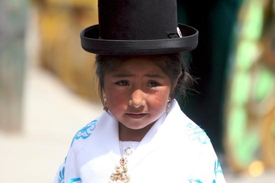 Oruro Fiesta Girl