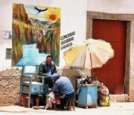 Shoe Shine Cusco