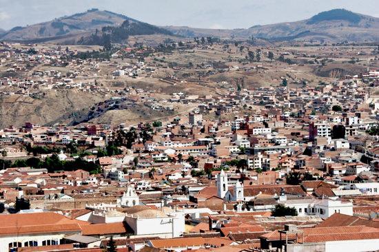 Sucre Architecture Skyline