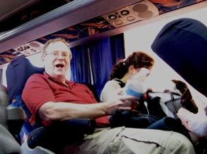 Tim On Bus