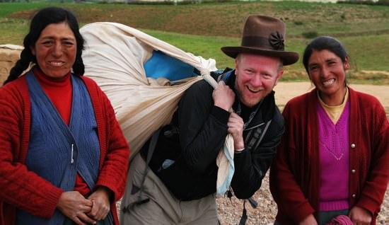 Worldrider Helping Peru
