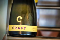 The Rasova Craft unfiltered sparkling wine.