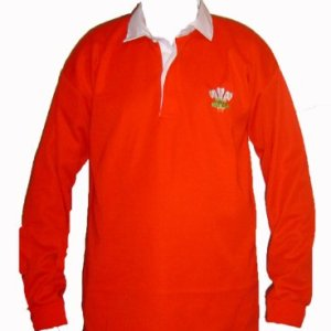 Wales Welsh Retro Cymru Rugby Shirts Adults S M L XL XXL Full Sleeve Exclusive (LARGE 40 - 42 CHEST)
