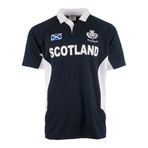 Rugby Nations Men's Six Nations Short Sleeve Rugby Shirt Scotland
