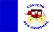 Concord New Hampshire flag courtesy of Wikipedia
