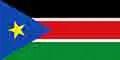 South Sudan flag courtesy of Wikipedia