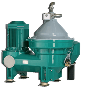 self cleaning centrifuge