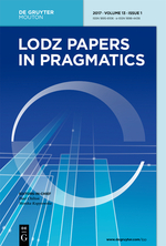 """New Publication: """"The framing of Muslims on the Spanish Internet"""" (in Lodz Papers in Pragmatics)"""