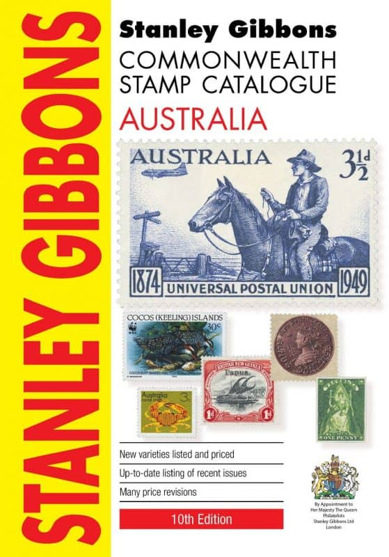 Stanley Gibbons Commonwealth Stamp Catalogue Australia – 2016
