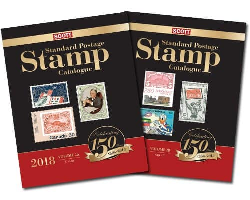 2018 Scott Standard Postage Stamp Catalogue – Volume 2 (C-F)