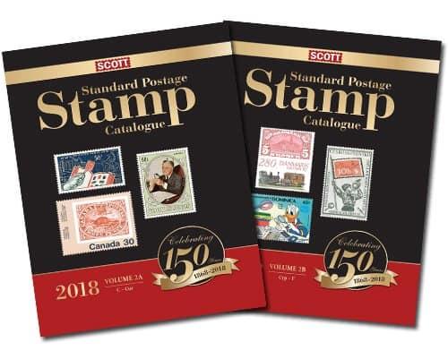 2018 Scott Standard Postage Stamp Catalogue – Volume 2 (C-F)
